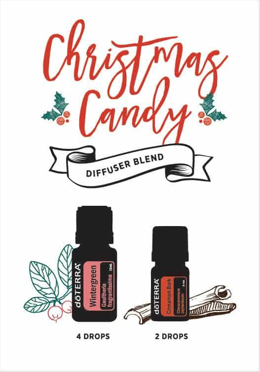 doTERRA Christmas Candy Diffuser Blend