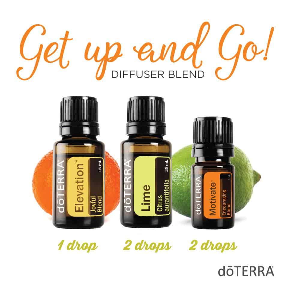 doTERRA Get Up and Go Diffuser Blend