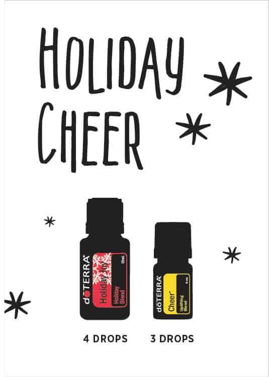 doTERRA Holiday Cheer Diffuser Blend