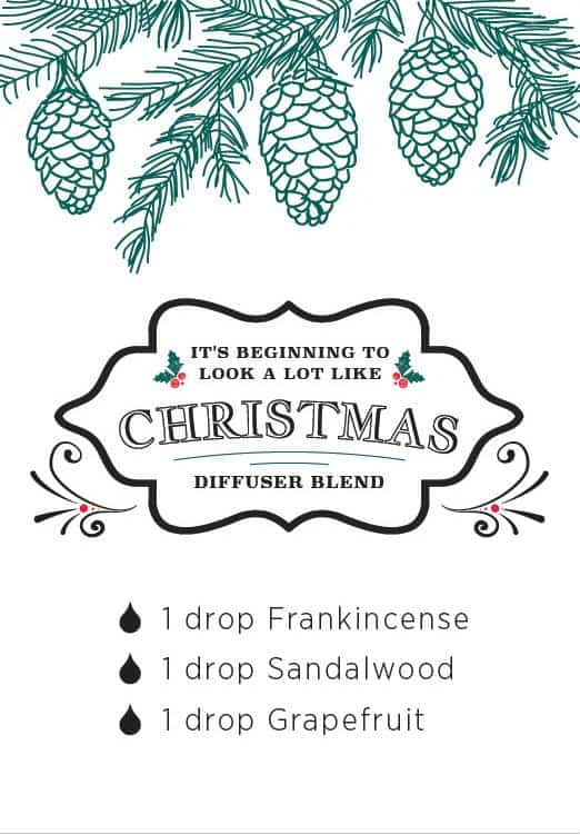 doTERRA It's Beginning to Look a lot Like Christmas Diffuser Blend