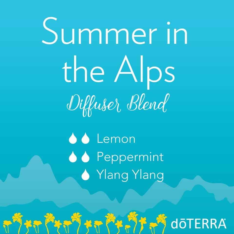 doTERRA Summer in the Alps Diffuser Blend
